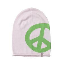 (m88) finamente truco gorra Freaky cara Beanie leves sombrero invierno con impresión Peace