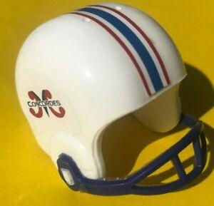 1983-1985 CUSTOM CFL Vintage Montreal CONCORDES mini gumball football helmet NFL
