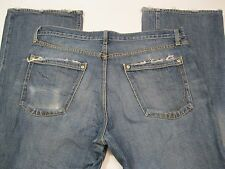 Paper Denim & Cloth New 2 Year Bootcut Distressed Blue Jeans size 38x32