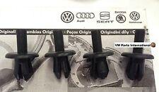 4x VW Golf MK3 VR6 GTI 8v 16v Inner Arch to Bumper Fixing Clips Spreader Rivets