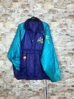 VINTAGE 90'S ABSTRACT SKI STYLE OR WINTER WARM BOLD MENS JACKET COAT SIZE XL *13