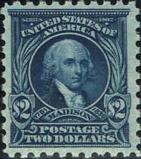 #479 1917 $2 PERF 10 HIGH VALUE ISSUE MINT-OG/NH--VERY LITE GUM BEND