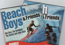 BEACH BOYS & FRIENDS - PROMO 2 CD SET: BEE GEES, 4 TOPS, MUNGO JERRY, SURFARIS