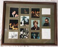 "Framed Signed Autographed Billy Bob Thorton, Adam Sandler, Selma Hayek 21""x17"""