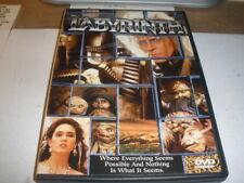 LABYRINTH DAVID BOWIE JENNIFER CONNELLY JIM HENSEN DVD