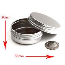5 x 30ml Aluminium Tin Empty Container Screw Top Pots Jars *BEST BUY* jka5