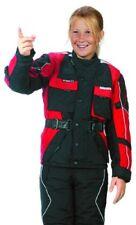 Roleff Racewear Blouson Moto pour Enfants Noir/rouge L/152
