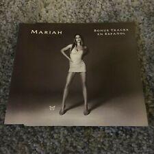 Mariah Carey - Bonus Tracks en Español - Promo CD *RARE*