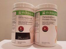 Herbalife F1 Nutritional Shake Cookies'n Creams + Personalized Protein Powder
