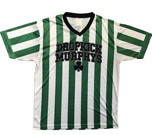 DROPKICK MURPHYS No 17 FOOTBALL CLUB Warriors Code 06-21-05 L/XL Soccer Jersey