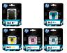 Genuine Full Set of HP 363 5 Ink Cartridges Photosmart Black Cyan *NO MAGENTA