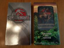 Jurassic Park Vhs Lot of 2 Movies The Lost World & Jurassic Park 3 Great Cond!