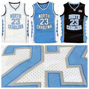 Retro Michael Jordan #23 North Carolina Tar Heels Basketball Jersey Stitched