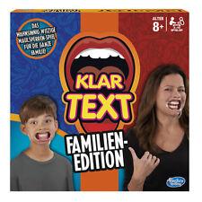 Klartext Familienedition Hasbro Familie Spiele Spiel 10 Mundstücke