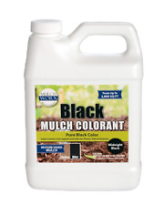 MulchWorx Black Mulch Color Concentrate 2,800 Sq. Ft. Pure Midnight Dye Spray