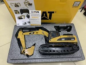 Cat 330D L RC Radio Control Hydraulic Excavator 1/20 Metal By Diecast Masters