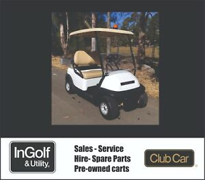 2014 Club Car PRECEDENT UTILITY Electric Golf Cart Buggie Buggy NEW BATTERIES