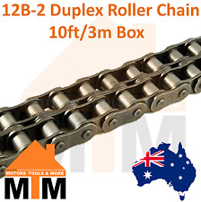 "INDUSTRIAL ROLLER CHAIN 12B-2 - 3/4"" PITCH Duplex 10Ft 3m Box 12B"