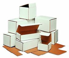 50-10x4x2 White Corrugated Carton Cardboard Packaging Shipping Mailing Box Boxes