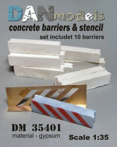 DAN Models 35401 Checkpoint, 10 Pcs Scale 1/35