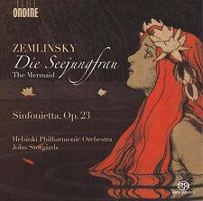 Mermaid - Sinfonietta Op. 23 - Zemlinsky / Helsinki Philharmonic (2015, CD NEUF)
