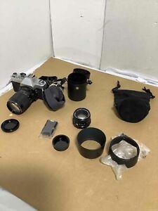 Mamiya/Sekor Camera With Lens