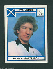 Ayr United - Danny Masterton * Panini Football 78 - 464 sticker complete w/back