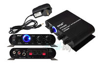 New Pyle PFA300 90W 2 Channel Hi-Fi Home Audio Stereo Speakers Amplifier w/Aux