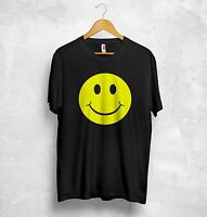 Acid House T Shirt Top Smile Smiley Face Funny House Music Dope Clubbing Gift