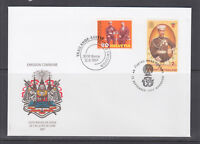 Switzerland Sc 999, Thailand Sc 1766, 1997 Royal Visit joint issue, official FDC