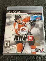 NHL 13 - PS3 - COMPLETE W/MANUAL - FREE S/H - (P)