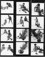 CDZ-2081 CONTACT & NEGATIVE SET 1960'S NUDE BLACK GIRLFRIENDS