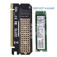 M.2 NVMe SSD PCIE AHCI Zu PCIE 3,0 X4 Adapter M Schlüsselschnittstellenkarte Neu