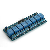 8 Kanal Channel 5V Relais Relay Konverter Modul fuer Arduino DSP PIC ARM AVR GY