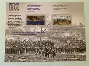 US Stamps SC# 4523a Civil War Sesquicentennial 44c(forever) sheet of 12 MNH 2011