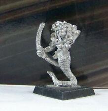 Rare Vintage Dungeons & Dragons Metal Miniature D&D Mini Medusa Archer Monster