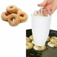 Mini Doughnut Mould Donut Waffle Maker Machine Dispenser Kitchen Utensil T1Y5