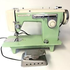 Coronado Vintage Sewing Machine - Model 610 - Complete With Accessories - Works