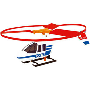 Polizei Helikopter mit Starter Günther