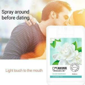 2x Breath Freshener lime mint blackcurrant leaves fragrance Confidence G1B4