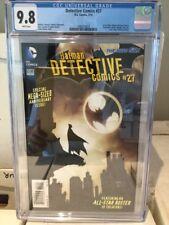 Detective Comics #27 CGC 9.8 Greg Capullo Bat Signal Cover! New 52 L@@K!