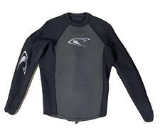 O'Neill Mens Neoprene Wetsuit Jacket Back Zip Black US Men's Large EU 52