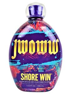 JWOWW SHORE WIN Ultra Dark Correcting Bronzer Tanning Lotion 13.5oz