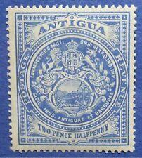 1908 ANTIGUA 2 1/2d SCOTT# 34 S.G.# 46 UNUSED                    CS04375