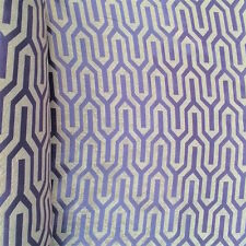 """Periwinkle Damask Velvet Jacquard Brocade Fabric 118"""" Wide By the Yard (916-16)"""