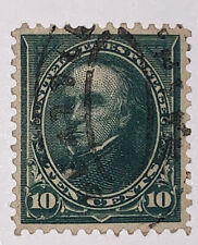 Travelstamps: 1895 US Stamps Collection Scott#273 10c Webster Used NG