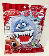 New Flix Candy Lip Pops Lollipop Abominable Snowman Rudolph Red Watermelon