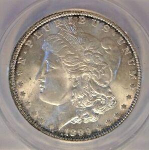 1899-O Morgan Silver Dollar ANACS-MS64