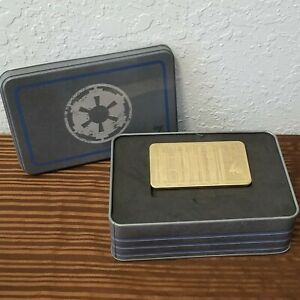 Disney Parks Star Wars Galaxy's Edge The Mandalorian Imperial Credit In Tin Box