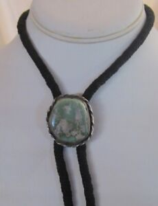 Older Bola with a Free-form Turquoise